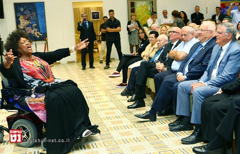 'רואים עולם' הערב עם ג'סי נורמן, נגד החרם על ישראל | צילום: עודד אנטמן.