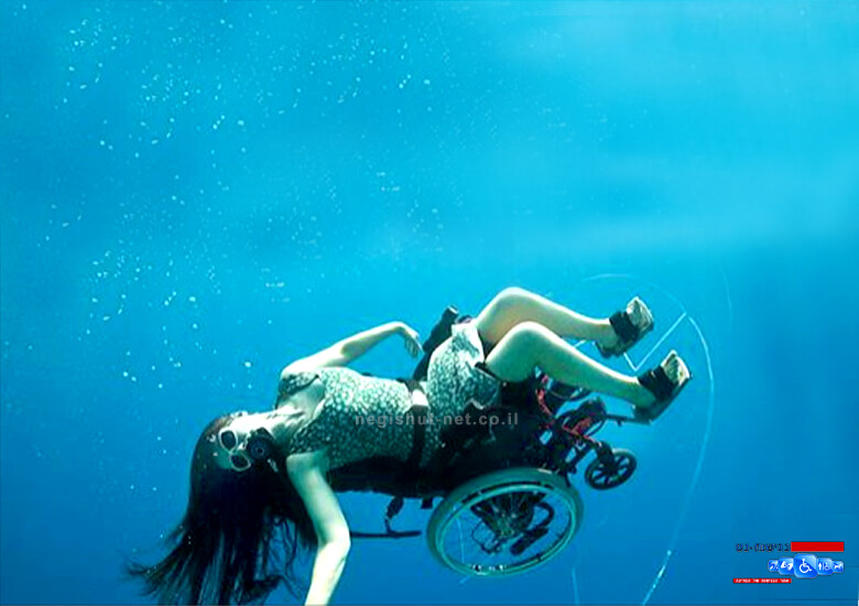 סו אוסטין, צלילה למעמקי הים בכיסא גלגלים