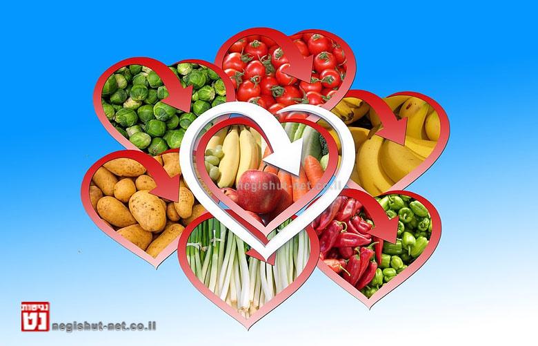 מחקרים מדעיים: יש להגביר כמעט ללא הגבלה את צריכת הפירות והירקות