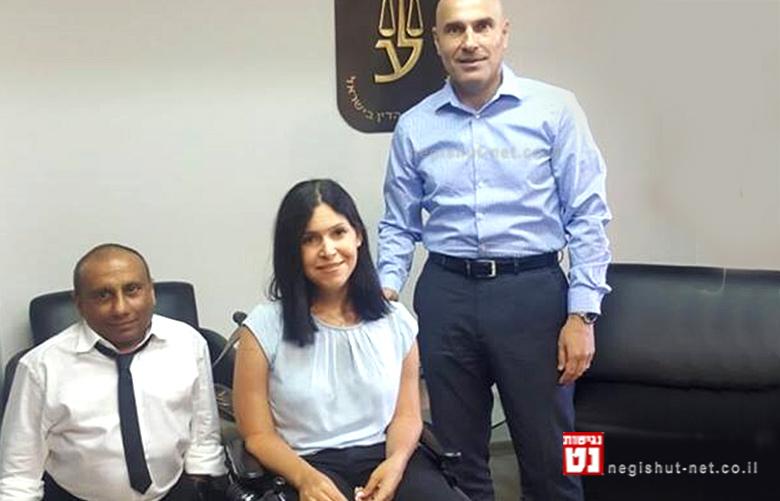 עורך הדין אפי נוה יושב ראש לשכת עורכי הדין בישראל, חברת הכנסת קארין אלהרר, עורך הדין איתן עמרם