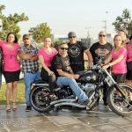 מסע אופנועים להגברת המודעות לגלוי מוקדם של סרטן השד|צילום: סטודיו R רמי נחום