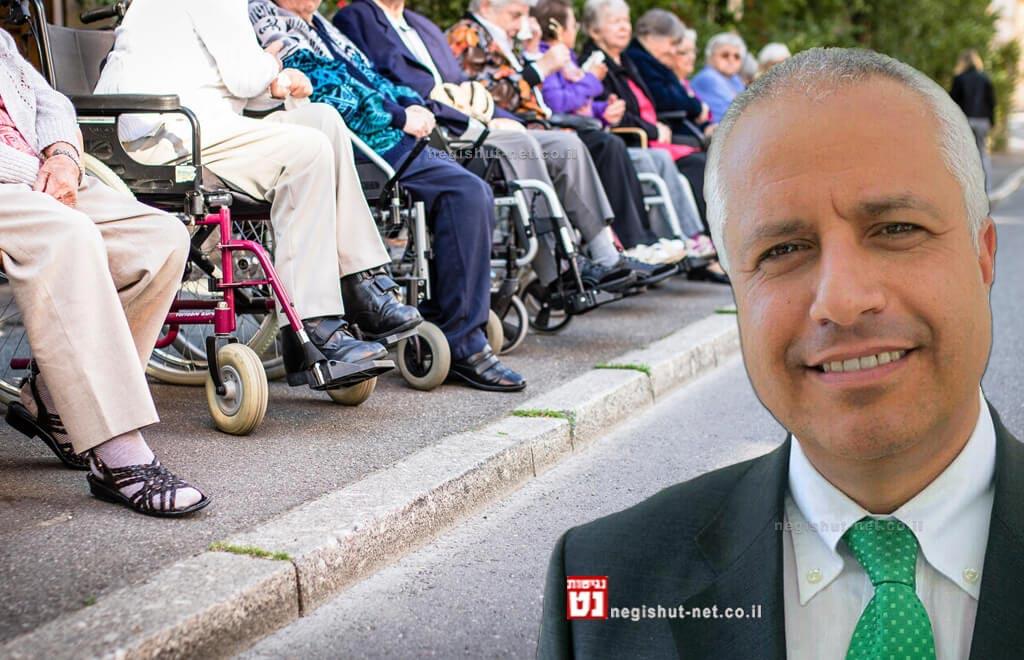 אורן הלמן | נכים משתמשי כיסאות גלגלים | צילום Depositphotos | עיבוד צילום: שולי סונגו ©