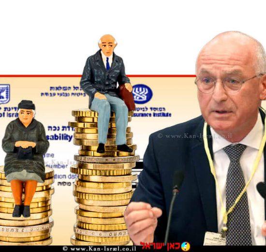 המפקח על הבנקים, מר יאיר אבידן, ברקע: תעודת נכה ואזרחים וותיקים | צילום: דוברות הכנסת, דני שם טוב | עיבוד ממחושב: שולי סונגו ©